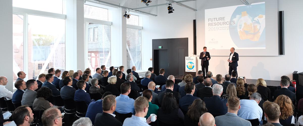 Fachtagung Future Resources 2020 - Grenzenlos verpacken: Über Ländergrenzen hinaus Ressourcen im Kreislauf führen