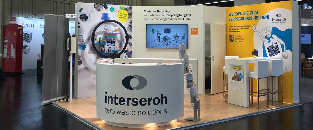 """Fachmesse FACHPACK 2021 – """"Made for Recycling"""" – Verpackungsanalyse von Interseroh jetzt auch für den internationalen Markt"""