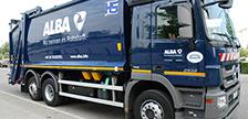 Umstellung auf neues ALBA-Logo und Claim in vollem Gang