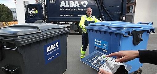 Klick – weg – recycelt! - ALBA startet erstes Online-Portal zur nachhaltigen Abfall-Entsorgung