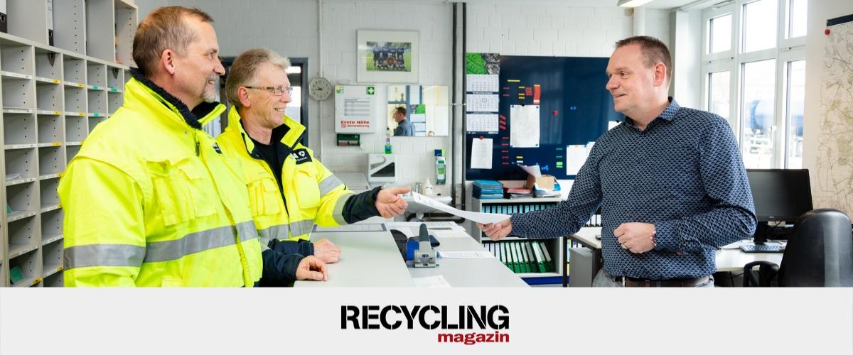"""Berufe in der Abfallwirtschaft: Leiter Disposition – """"Effiziente Entsorgung – eine Frage der Organisation"""""""