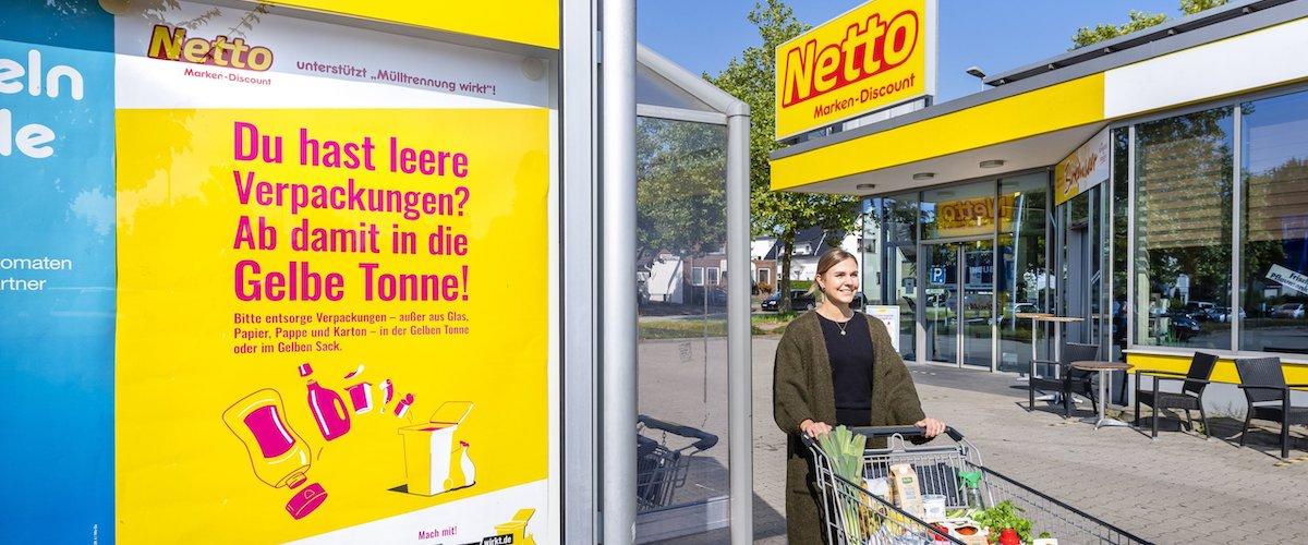Drei Fragen an: Christina Stylianou, Netto Marken-Discount – Mülltrennung wirkt: Handelskampagne erzielte 90 Mio. Kontakte