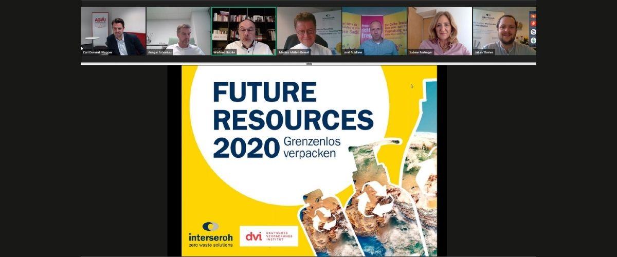 """""""Future Resources 2020"""": Vierte Fachtagung von Interseroh und Deutschem Verpackungsinstitut unter dem Motto """"Grenzenlos verpacken"""" – Verpackungen müssen kreislauffähige Produkte werden – in ganz Europa"""