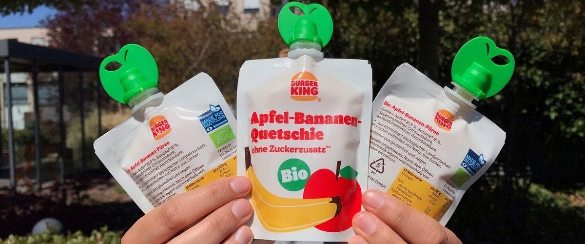 """Nachhaltiges Verpackungsdesign im Fast-Food-Sektor – Burger King® erhält Interseroh-Siegel """"Made for Recycling"""" für Quetschbeutel-Verpackung"""