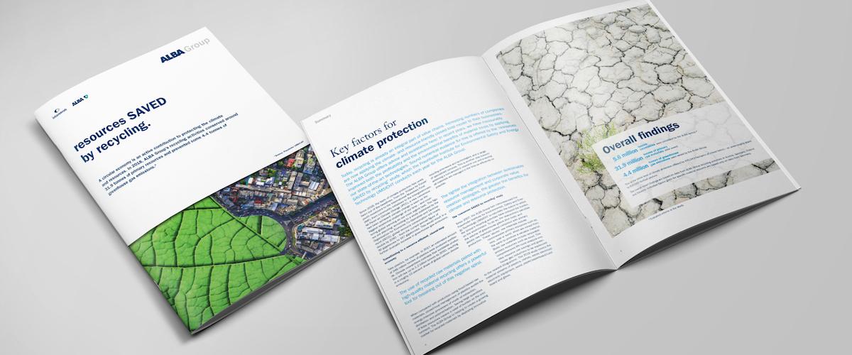 Recycling ist Schlüsselfaktor für den Klimaschutz – Neue Studie: ALBA Group erzielt ein Prozent der deutschen Treibhausgaseinsparungen